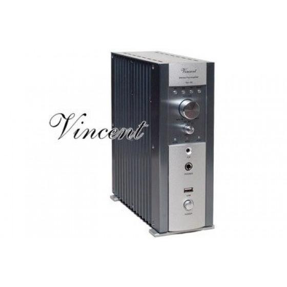 Vincent SA-96 with USB-Port Silver