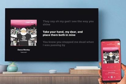 Слушать песни с текстом на устройствах с Chromecast теперь смогут все пользователи Deezer