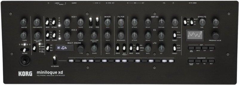 Модульный полифонический синтезатор от Korg