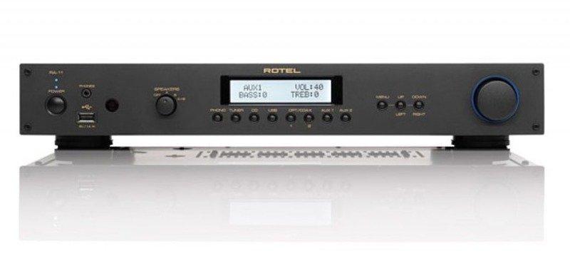 Последние дополнения к Rotel's 14 Series – бюджетный стереоусилитель A 11 и плеер CD 11