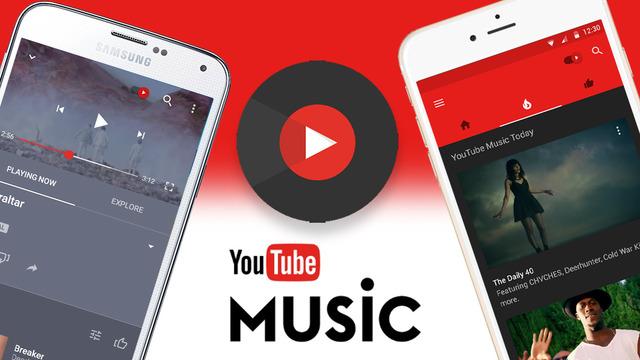 Функционал Play Music на сервисе YouTube Music