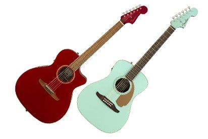 Fender выпустила серию электрогитар в классическом стиле