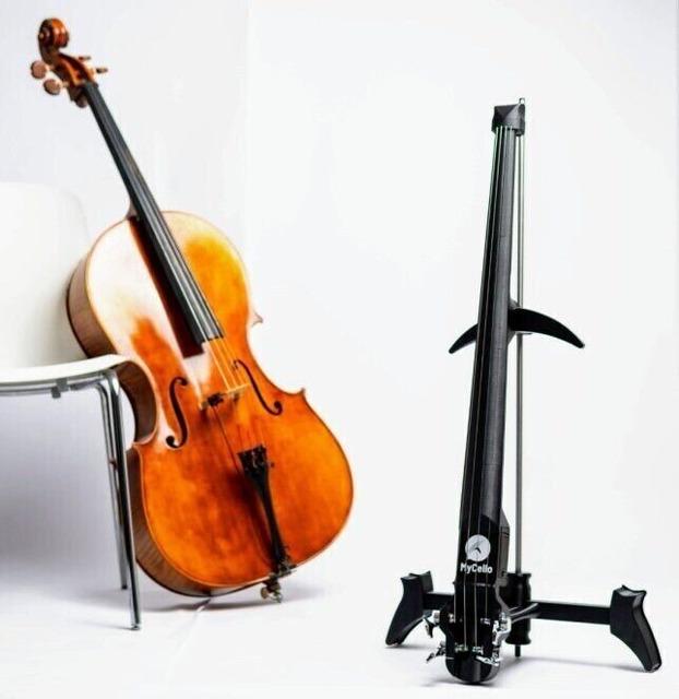 MyCello – футуристическая виолончель, отпечатанная на 3D-принтере