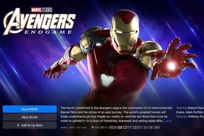 Disney, Marvel, Pixar уже в iTunes в хорошем качестве
