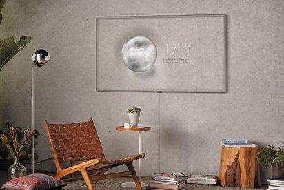 Необычные телевизоры: компания Samsung создала телевизор-хамелеон