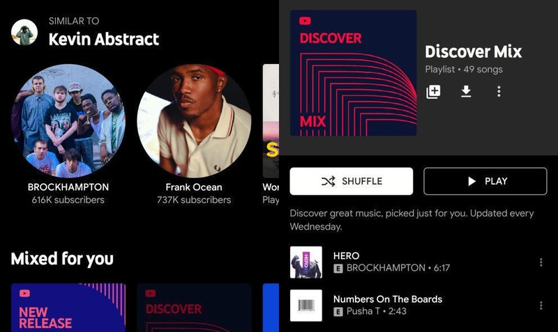 Discover Mix