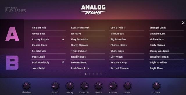 Analog Dreams от Native Instruments