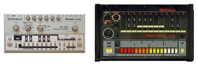Онлайн-версия Roland TR-808 и синтезатора TB-303